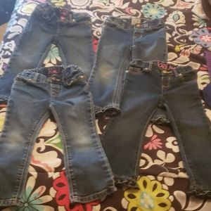 Size 3t lot of jeans